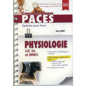 QCM physiologie concours blanc