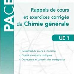 PACES Chimie générale rappels de cours et exercices corrigés