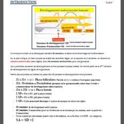 Extrait cours PACES 1